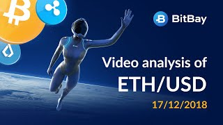 Ethereum Price Technical Analysis ETH/USD 17/12/2018 - BitBay