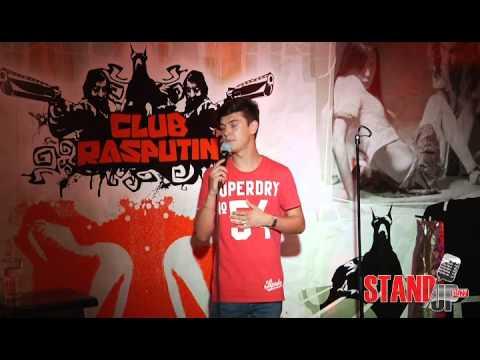 Сергей Ильин  на сцене Stand UP0522 о том, как смотреть Игру Престолов, если она закончилась, ушной
