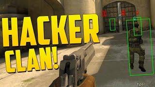 3 HACKERS VS 1 HACKER! - CS GO Funny Overwatch Moments