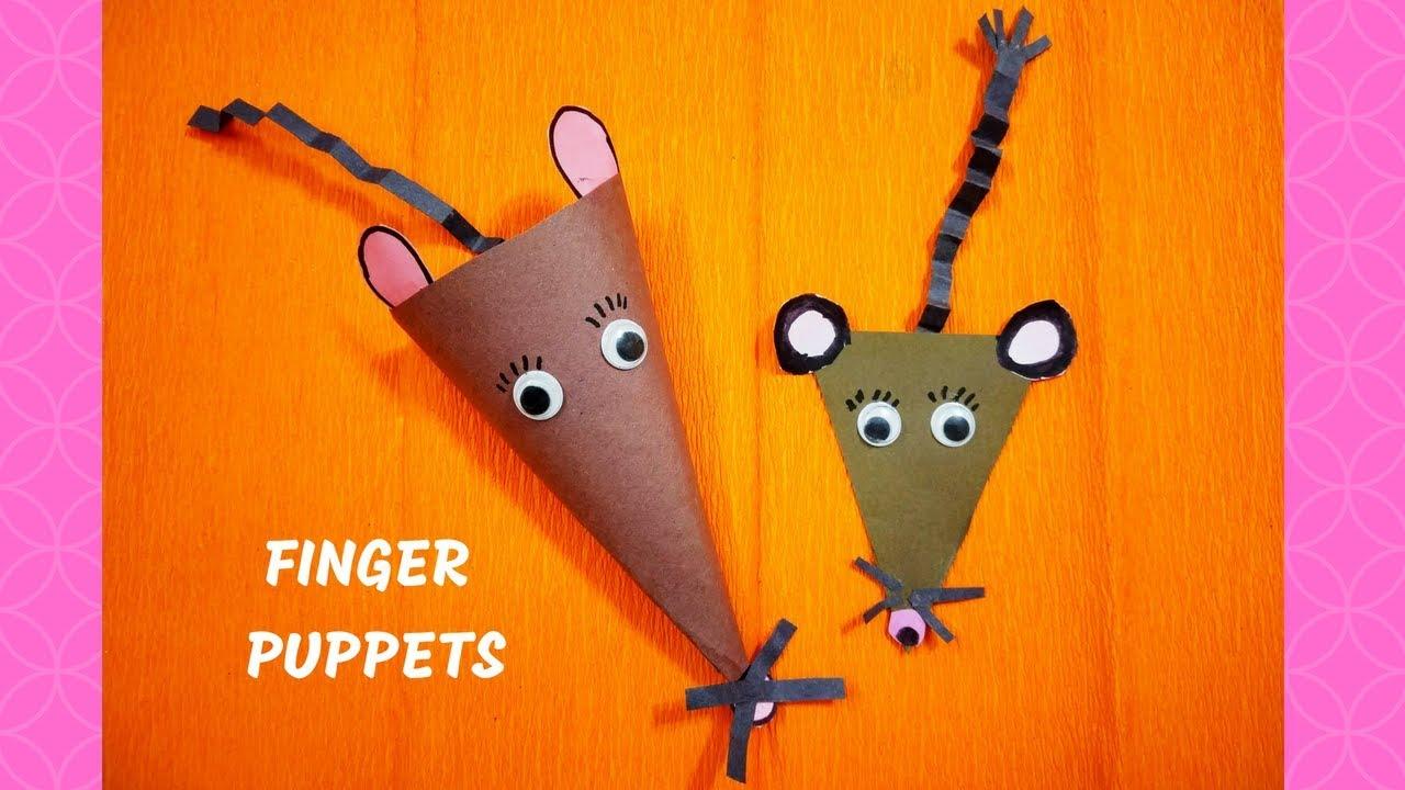 Finger mouse puppet craft finger puppets diy puppet craft finger mouse puppet craft finger puppets diy puppet craft easy craft ideas at home maxwellsz