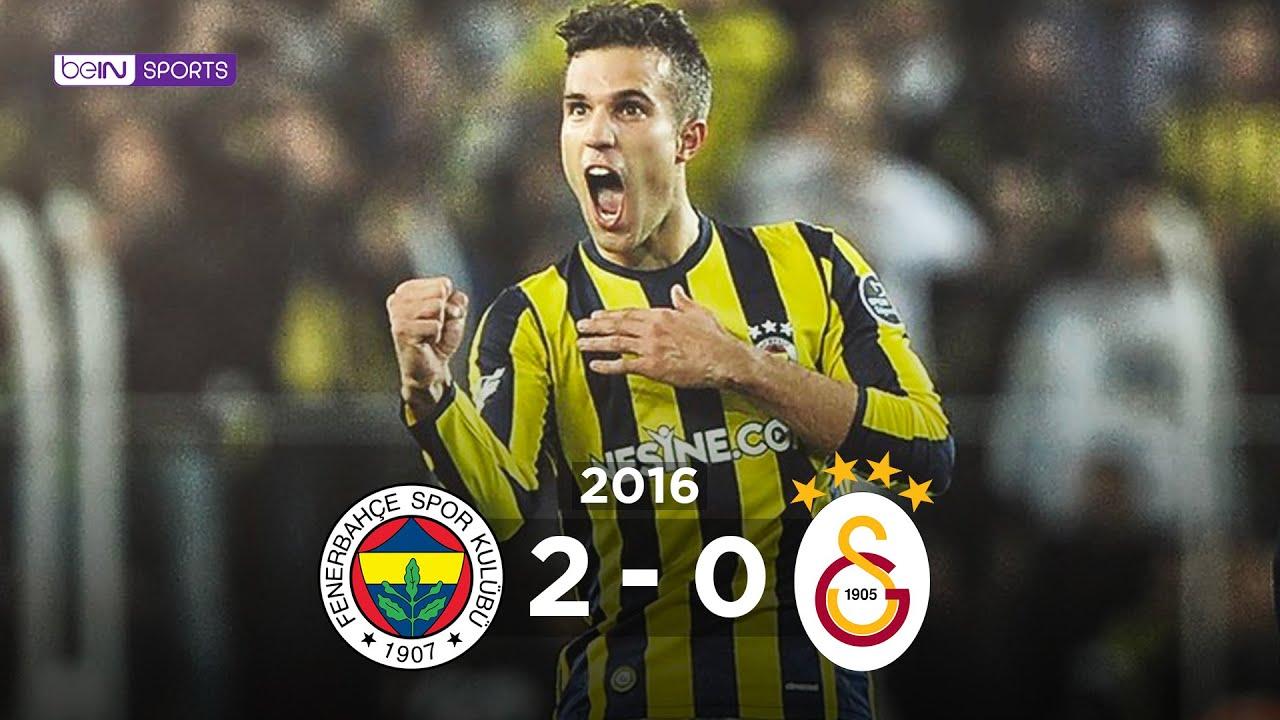 20.11.2016 | Fenerbahçe-Galatasaray | 2-0