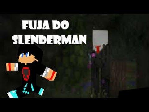 Fuja do slenderman! - Minijogo Minecraft