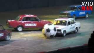 Subaru WRX 2013  авто выставка футбол на жигули Avto Man #26(Множество невероятных происшествий и просто неожиданностей происходящих на дороге в 2012 году Авто видео..., 2013-06-04T15:08:56.000Z)