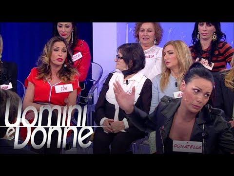 Uomini e Donne, Trono Over - Donatella, Ida e Valentina ai ferri corti