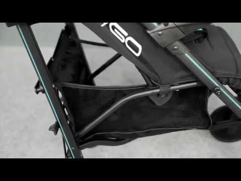 Видео обзор детской прогулочной коляски - трость easyGO NITRO (EURO CART)