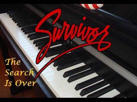 Survivor - The Search Is Over - Piano Instrumental