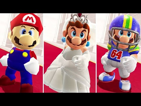 Thumbnail: Super Mario Odyssey - All Bowser's Reactions to Mario Costumes + Invisible Mario Vs. Final Boss