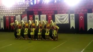 8 Şubat Anadolu lisesi Halk oyunları