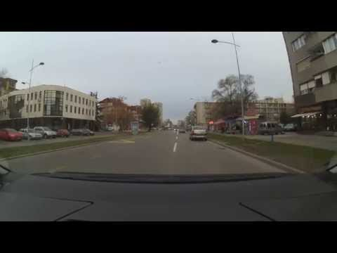 Xiaomi Yi DashCam: Novi Sad, Serbia