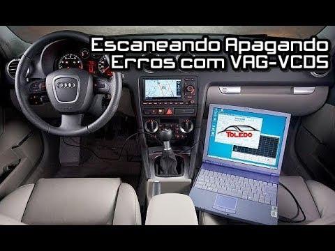 Escaneando e Apagando Erros com o VCDS VAG - Audi A3 2.0T 8P