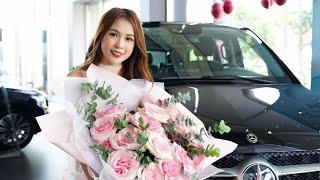 """Sam nhảy tưng bừng """"quẩy banh"""" trong buổi nhận chiếc Mercedes V250  lần đầu xuất hiện tại Việt Nam"""