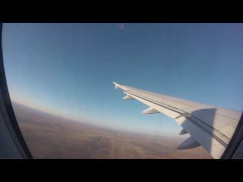 Departure from  Nosea Kutako International Airport, Namibia 24 June 2016