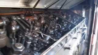Ligando locomotiva G12,General Motors,procedimento para evitar calço Hidraulico em ZRO,Rio Claro