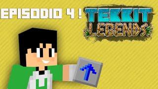 Tekkit Legends | Overclock nas máquinas! | #4