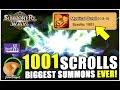 SUMMONERS WAR : *EPIC* 1001 SCROLL SUMMONING SESSION!!