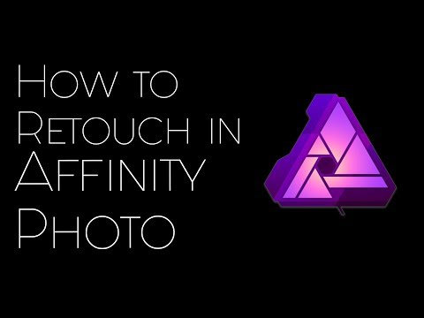 How to Retouch / Dodge & Burn in Affinity Photo for iPad Pro