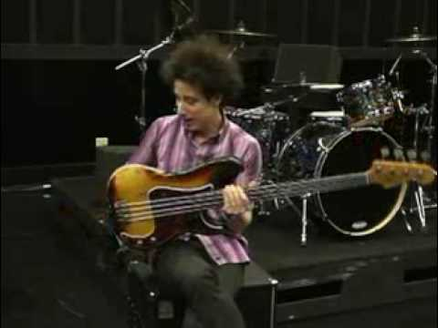 Justin Meldal-Johnsen On Planet Waves Bass Straps