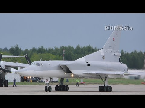 вылет Ту-22М3 RF-94137