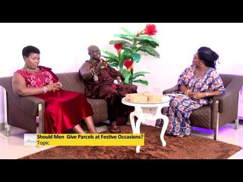 Should Men Give Parcels at Festive Occasions? - Awaresem on Adom TV (4-1-21)