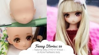 Faceup Stories: 29 Obitsu & Azone hybrid