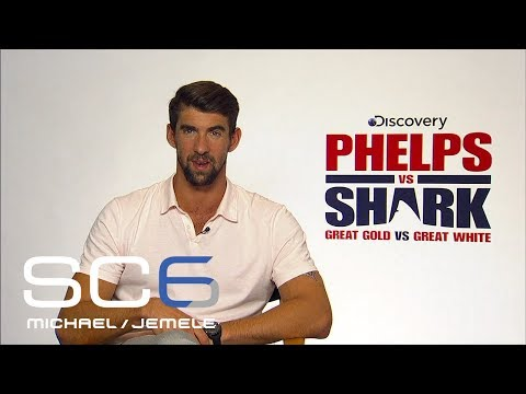 Michael Phelps Compares Racing A Shark To The Olympics | SC6 | ESPN