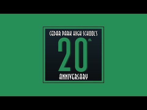 FULL: Cedar Park High School's 20th Anniversary Celebration