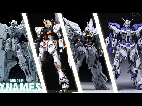 Resin News! Gunpla Conversion Kits - MG Dynames / MG Astray / RG Nu Gundam / Banshee Bust / GP01
