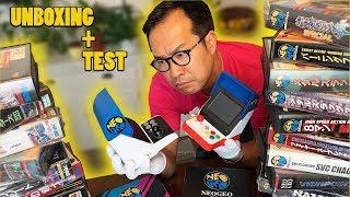 NEOGEO MINI : notre UNBOXING + TEST complet (collection estimée à 100 000€)