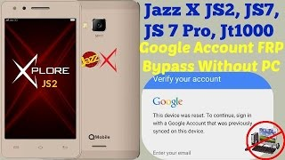 Google Account Bypass QMobile JaZZ X JS-2 (FRP) Bypass -Done