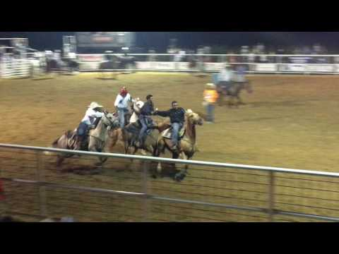 Owasso Rodeo 2017 Pony Express 1st Race