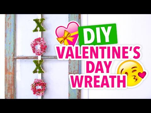 DIY Cute Valentine's Day Wreath XOXO - HGTV Handmade