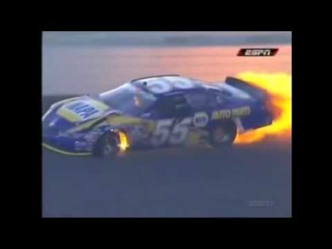 Top 10 NASCAR Crashes at Auto Club Speedway