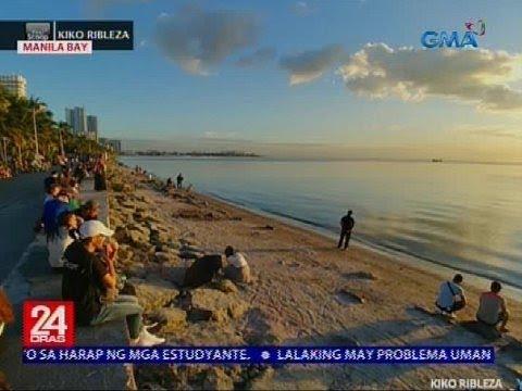 Malinis na bahagi ng Manila Bay, ikinatuwa ng mga Pinoy at dayuhan