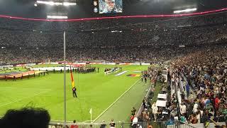 National League: Germany - France 0 - 0  2018 National Anthem