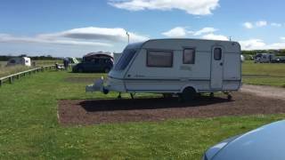 Dunbar caravan site