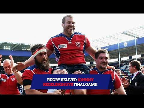 Namibia Prop Johnny Redelinghuys' Final Bow | Rugby Relived