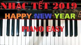 Hướng dẫn HAPPY NEW YEAR - ABBA | Piano easy | Đinh Công Tú