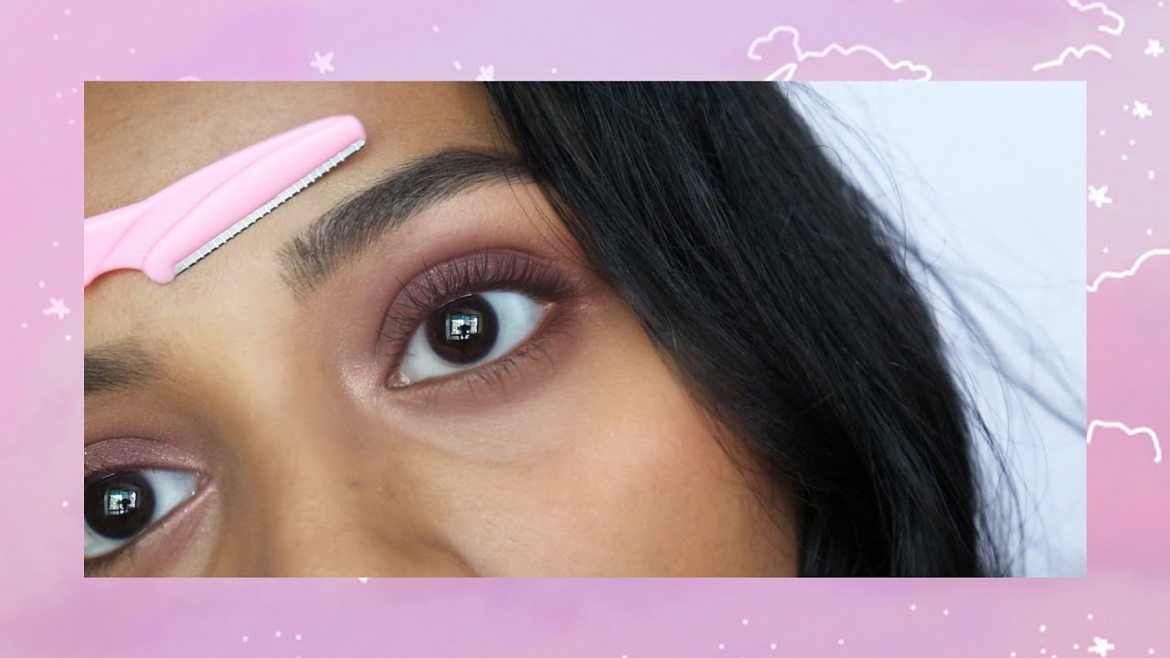 Download How I do my Brows with a Razor (beginner friendly) + Eyebrow Routine