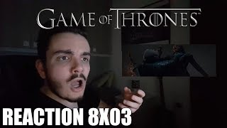 ARYA VS NIGHT KING - Game of Thrones 8x03 - Reaction ITA
