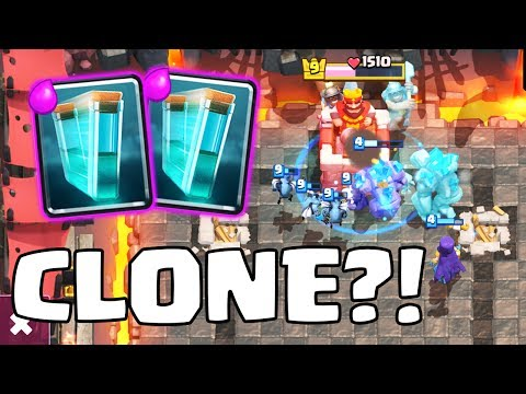 AM I SEEING DOUBLE?! • Clash Royale  • TROLL DECK