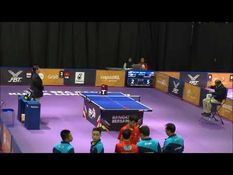 Sea Games 2017 Table Tennis, Men Team Vietnam V Indonesia 3rd  Single
