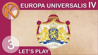 EU4 Rule Britannia - Friesland | OPPORTUNISTIC - Ep. 3 | Let's Play Europa Universalis IV