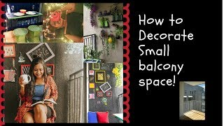 Download Video How to decor a small balcony space|Home decor |Arushi Patkey MP3 3GP MP4
