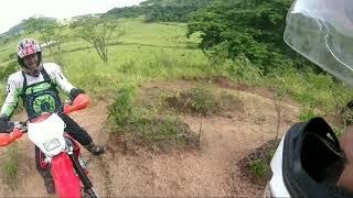 Trilha top com amigos em Quintana  parte 1
