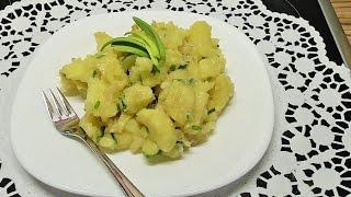 Niemiecka salatka ziemniaczana /Kasia ze salska gotuje