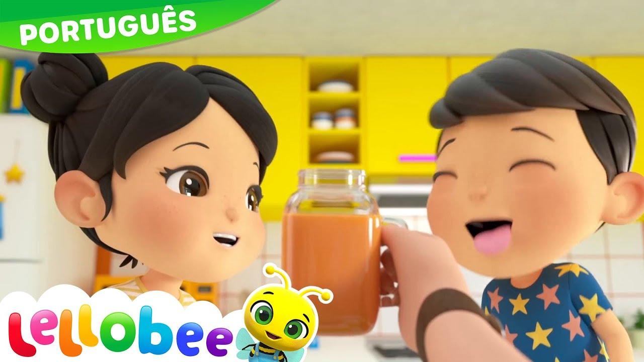 Canção das cores dos smoothies | | NOVO DESENHO! | Desenhos Animados | Little Baby Bum