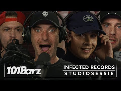 Steen, EZG, Steff, Spinal (Infected Records) - Studiosessie 299 - 101Barz