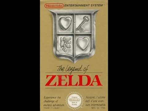 The Legend of Zelda NES  Intro Main Theme