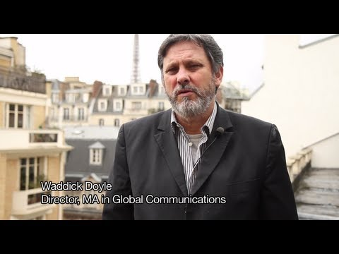 MA in Global Communications at The American University of Paris