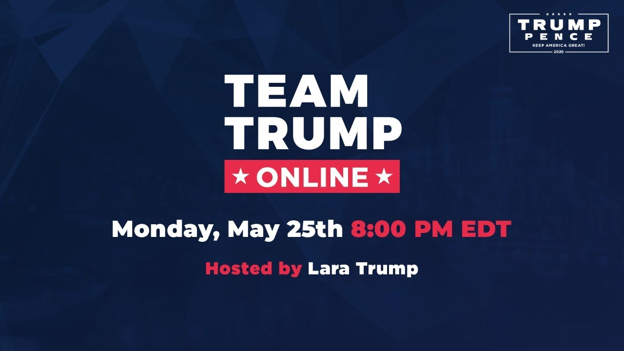 WATCH: Team Trump Online with Lara Trump and Sen. Lindsey Graham!